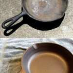 Mom Tip: clean and condition cast iron