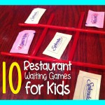 10 Restaurant Waiting Games to Play with Kids