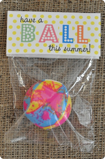 Breathtaking image in have a ball this summer printable