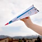 Free Full Throttle Paper Airplane Printable