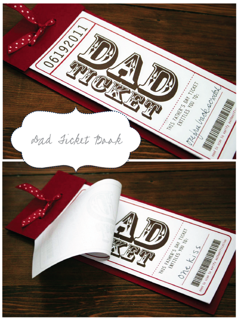 homemade tickets