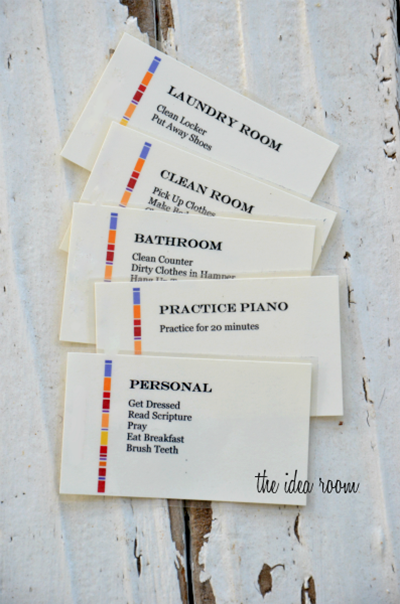 chore cards for tweens  7 moms