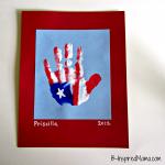 Flag Handprint Fun