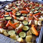 Oven Roasted Summer Vegetables