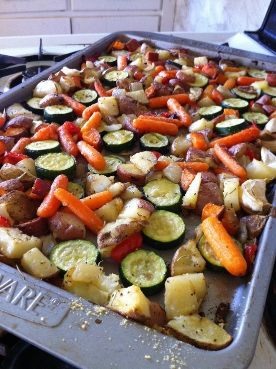 ... this pin image of fresh oven roasted vegetables the description of