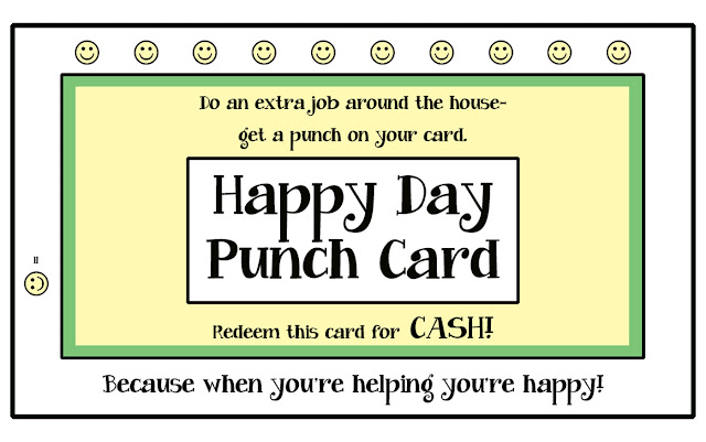 Punch Card Template Free. How To Design A Punch Card And Which ...