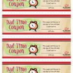 Dad Time Coupons