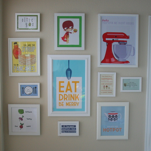 Free Kitchen Wall Art - 24/7 Moms