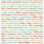 Things To Do Instead Of Turning On The TV (and it's Printable!)