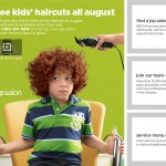 Free Haircut for Kids at JCPenney – {Back To School Deal}