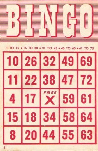 photograph regarding Free Printable Bingo Cards 1 75 called Absolutely free Bingo Card Printables - 24/7 Mothers