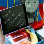 DIY Chalkboard Lunchbox