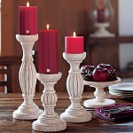 WIN – PartyLite's Chalet Pillar Trio and Three Pillars