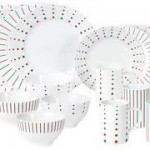 WIN – Mikasa's Christmas Cheers Dinnerware Set with Dots & Stripes ~ 25 Days of Christmas Giveaways