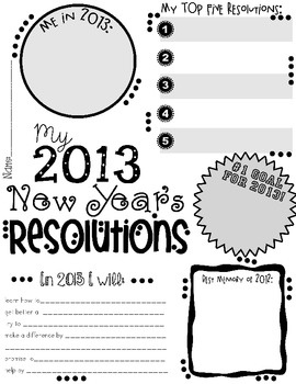 essay on new year resolutions for kids