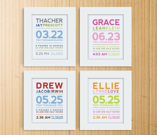 Diy Frame Able Birth Announcements 24 7 Moms