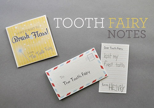 the next time your child looses a tooth add a little more excitement to the tooth fairy tradition by using these free printable letters from hand made