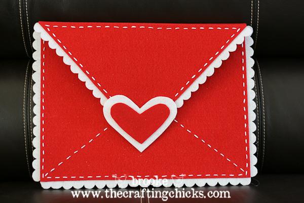 Diy Felt Valentine Envelopes Pottery Barn Kids Style