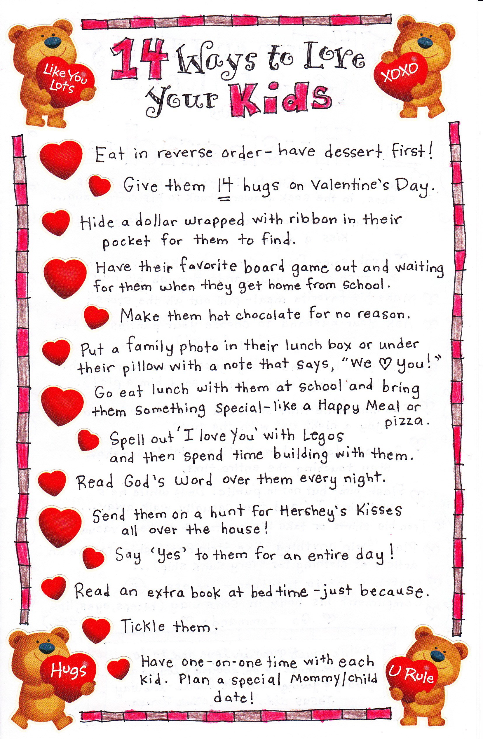 Love Your Children Quotes 14 Ways To Love Your Kids  247 Moms