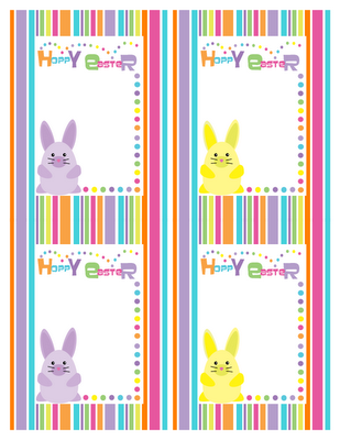 free hoppy easter printable cards 24 7 moms