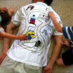 Man Massage! Car Track T-Shirt For Dad!