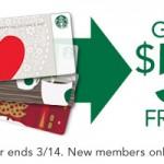 New Starbucks Rewards Members Get $5 Free