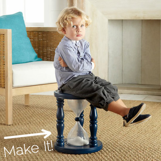 DIY Time Out Chair 247 Moms