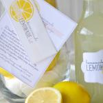 Free Homemade Lemonade Kit Label and the Recipe Printable