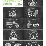 Free Toy Organization Label Printables