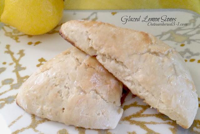 Lemon Glazed Cloud Cake