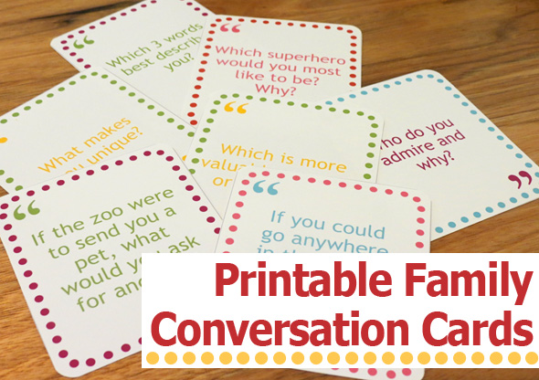 photo relating to Printable Conversation Cards identified as Childhood-101-Printable-loved ones-interaction-playing cards - 24/7 Mothers