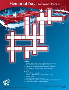 FF Memorial Day Crossword