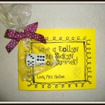 Math Dice Gift – End of the School Year