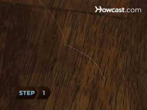 Mom Tip How To Remove Wood Furniture Scratches With A