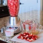 Watermelon and Strawberry Lemonade