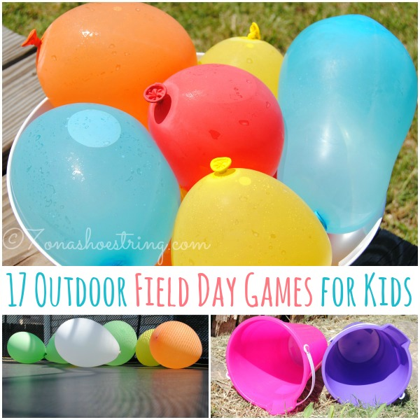 Day 9- Family Field Day {100 Days Of Summer Fun}