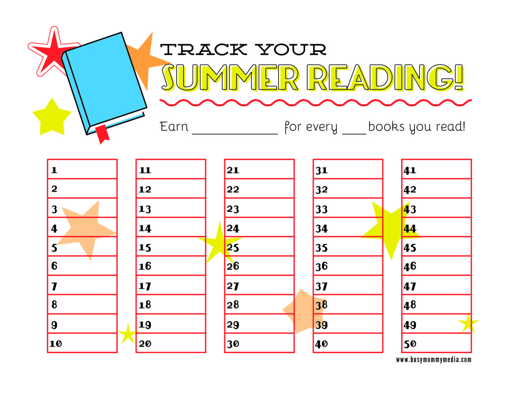 Free Summer Reading Printable on Home School Free Printables