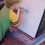 Day 38 – DIY Color Bubble Art  {100 Days of Summer Fun}