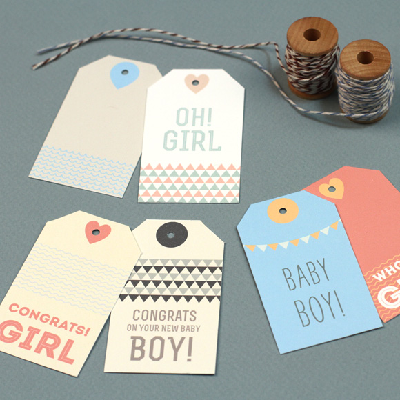 Free Baby Gift Tag Printables 24 7 Moms