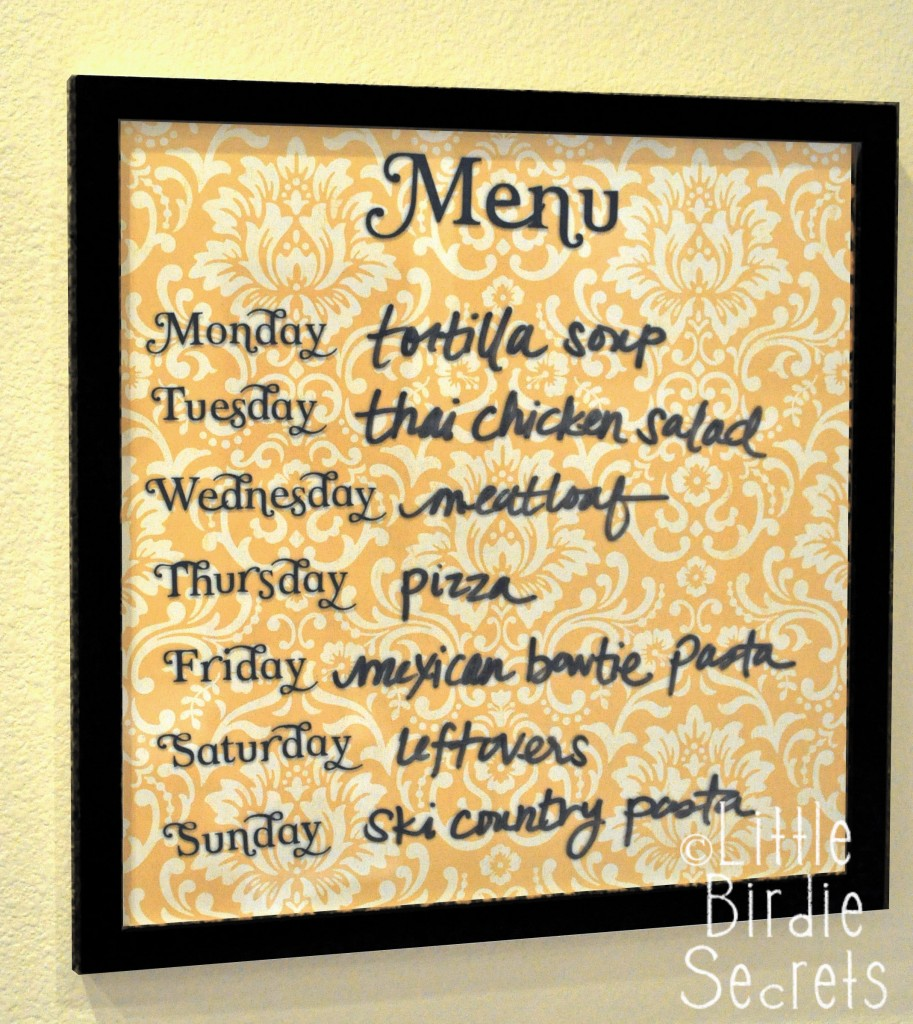 with weekly meal planning? Create this weekly meal planning menu board ...