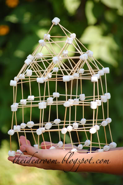 It is a graphic of Universal Building With Toothpicks and Marshmallows Printable