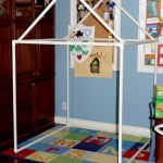 Day 53 – 	PVC Pipe Forts {100 Days of Summer Fun}