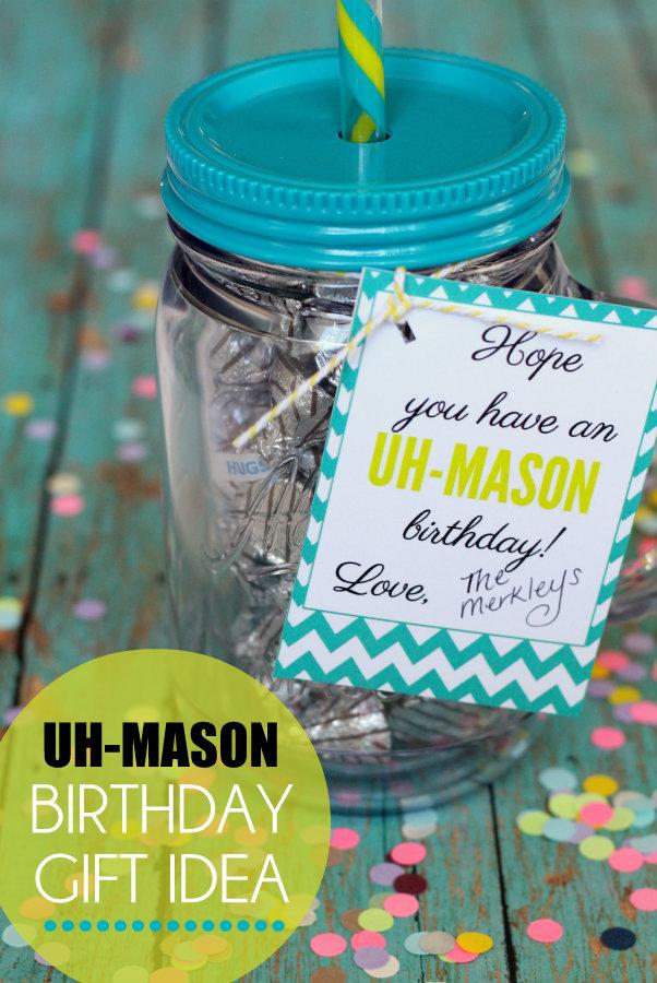 Free Uh Mason Gift Idea Printable