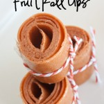 Day 58 – 	 Easy Homemade Fruit Roll Up's  {100 Days of Summer Fun}