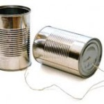 Day 56 – 	Tin Can Telephones  {100 Days of Summer Fun}