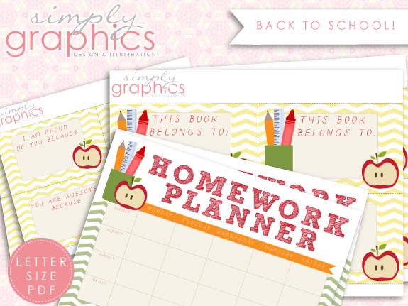 Free Back To School Printables - 24/7 Moms