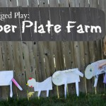 Day 89- Paper Plate Farm {100 Days of Summer Fun}
