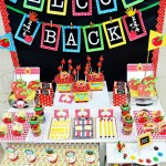 Free  Back To School Party Printables and Tips {Back To School}