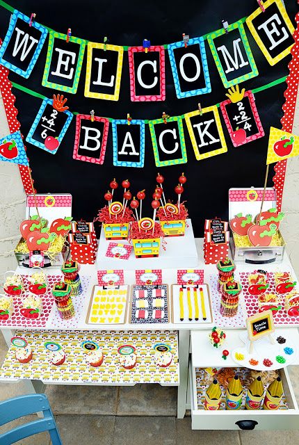 Free Back To School Party Printables And Tips Back To