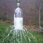 Day 74 – Water Bottle Sprinkler {100 Days of Summer Fun}